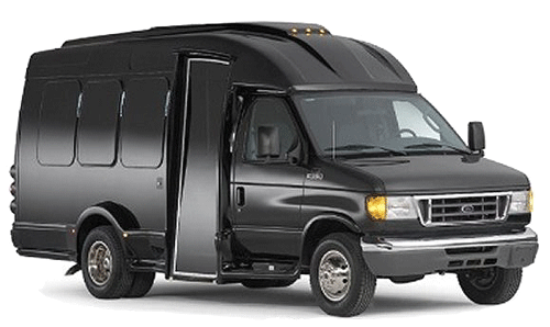 Ford E350 Tutle Top Van - Black